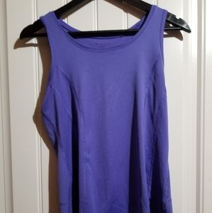 Size M Purple Tek Gear Tank Top